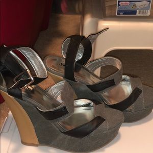 Charlotte Russe Wedge Heels